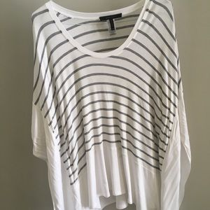 BCBG MaxAzria loose fitting top Size XS/S